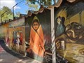 Image for Mural in Bolivar Park - Sucre, Bolivia