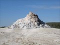 Image for White Dome Geyser - Yellowstone N.P., Wyoming