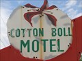 Image for Cotton Boll Motel - Route 66 Neon - Canute, Oklahoma, USA.