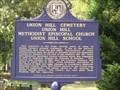 Image for Union Hill Cemetery, Union Hill Methodist Episcopal Church, Union Hill School - Homewood, AL