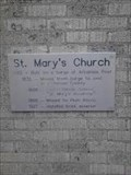 Image for FIRST -- Catholic Church in Arkansas, St. Mary's Catholic Church, Plum Bayou AR