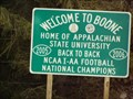 Image for Welcome to Boone, NC