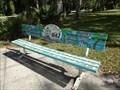 Image for Charlotte Harbor Bench - Port Charlotte, Florida, USA