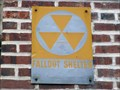 Image for Frankford High School Fallout Shelter Sign #1 - Philadelphia, PA