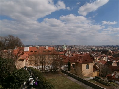 Prague from the Castle ramparts