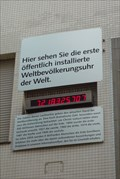 Image for FIRST World Population Clock on Public Display