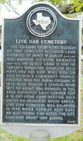 Image for Live Oak Cemetery