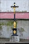 Image for Cross at the Church of the Elevation of Holy Cross / Kríž u kostela Povýšení svatého Kríže - Cernovice u Tábora (South-East Bohemia)