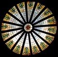 Image for Granite County Courthouse Dome Skylight and Transom Glass - Philipsburg, MT