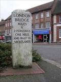 Image for Beckenham High St. Milestone, Beckenham, London