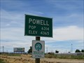 Image for Powell, Wyoming - W. Coulter Avenue - Population 6,314