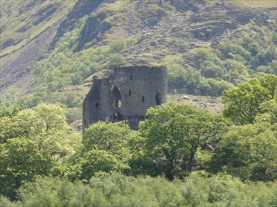 veritas vita visited Dolbadarn Castle,