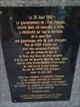 Image for Plaque devant l'hôtel du Parc - Vichy, France