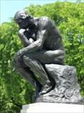 Image for The Thinker - Rodin - Detroit, Michigan, USA.