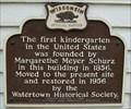 Image for First Kindergarten Historical Marker
