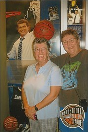 Caching buddies, ParkerTMA, visited Naismith Basketball Hall of Fame