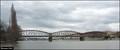 Image for Vyšehrad Railway Bridge / Železnicní most pod Vyšehradem (Prague)