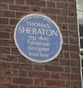 Image for Thomas Sheraton -  London, UK