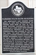 Image for Farmers State Bank Building
