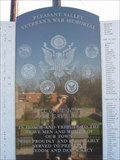 Image for Pleasant Valley War monument