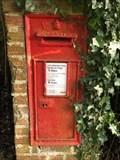 Image for Victorian Wall Post Box - Chapel Row near Aldermaston - Berkshire - UK