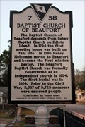 Image for 7-58 Baptist Church of Beaufort
