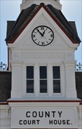 Image for Court House Clocks ~ Beaver, Utah