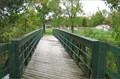 Image for Wooden Pony Truss Footbridge - Junge Park - Davenport, IA