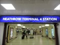 Image for Heathrow Terminal 4 Underground Station - Heathrow Airport, London, UK