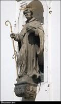 Image for St. Nicholas of Tolentino on St. Thomas Church / Sv. Mikuláš Tolentinský na kostele Sv. Tomáše - Moravské námestí (Brno)