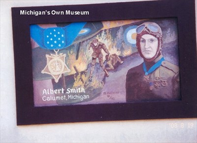 The picture is located in Michigan's Own Museum, Frankenmuth MI