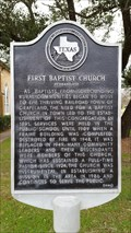 Image for First Baptist Church of Grapeland