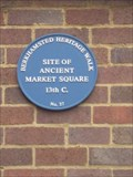 Image for Site of ancient market square - Berkhamstead