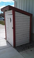 Image for Outhouse at the Syracuse Social Center Museum - Utah[