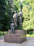 Image for Untitled - semi abstract human figures- Moscow, Russia