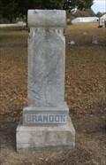 Image for A.E. Brandon - Lightning Ridge Cemetery - Roff, OK