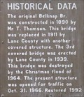 Image for Belknap Bridge History