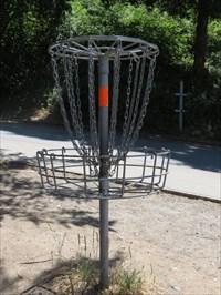 Hole 1 Basket, Aptos, CA