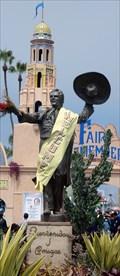 Image for A Fair Likeness : Sculptor Previews Statue of Del Mar's Don Diego  -  Del Mar, CA
