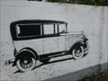 Image for Old Car Graffiti - Zagreb, Croatia