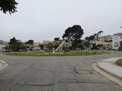 View of Park at Entrada Court, San Francisco, CA