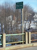 Image for Main/Front Street Border bridge between South Berwick, ME and Rollinsford, NH