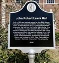 Image for John Robert Lewis Hall - Troy, AL