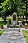 Image for Pomník obetem 2. sv. války, Praha Vinor, Czech republic