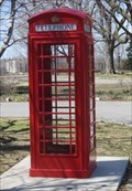Image for Red Telephone Box - British High Commissioner's Residence - Ottawa, Ontario