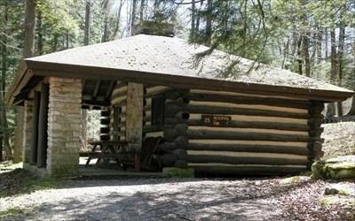cabin 25 kooser state park family cabin district