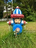 Image for Patriotic Parade of Painted Hydrants, No. 4 - Cumberland, Rhode Island