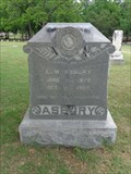 Image for E.W. Asbury - Keenan Cemetery - Farmers Branch, TX