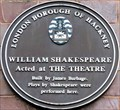 Image for William Shakespeare - Curtain Road, London, UK