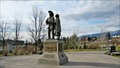 Image for David Thompson-Charlotte Small Statue - Invermere, BC
